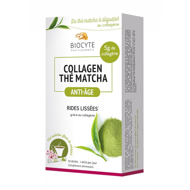 Biocyte Collagen Thé Matcha - 10 Sticks