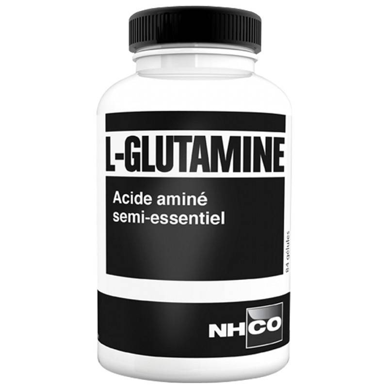 NHCO L-Glutamine acide aminé semi-essentiel - 84 gélules
