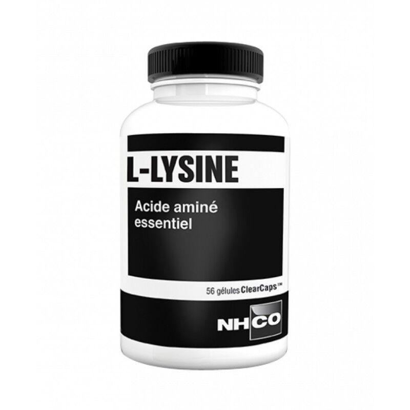 NHCO L-Lysine acide aminé essentiel - 56 gélules