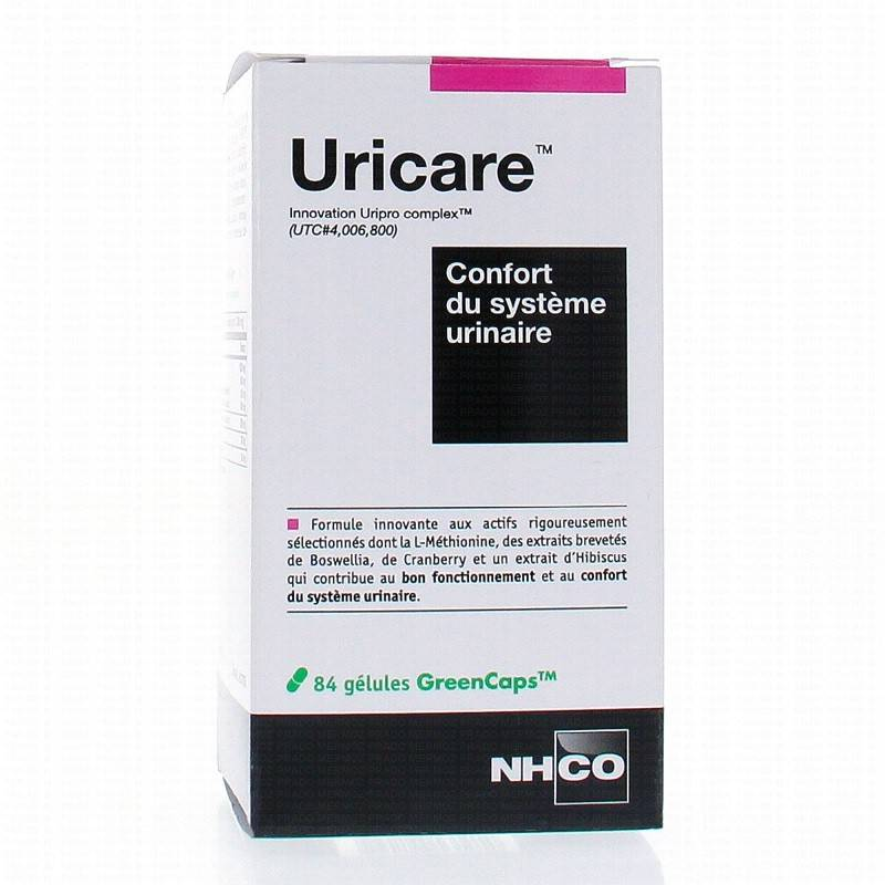 NHCO Uricare Confort du système urinaire - 84 gélules