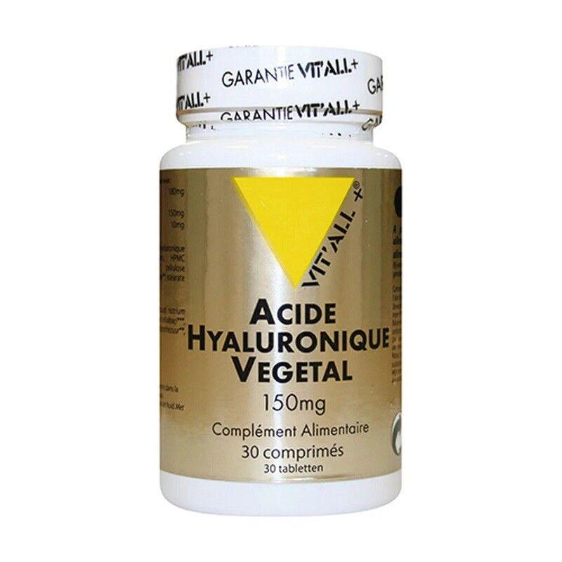 Vitall + Vitall+ Acide Hyaluronique végétal 150 mg - 30 comprimés
