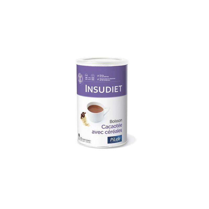 Insudiet Boisson cacao céréales insudiet 300 grammes