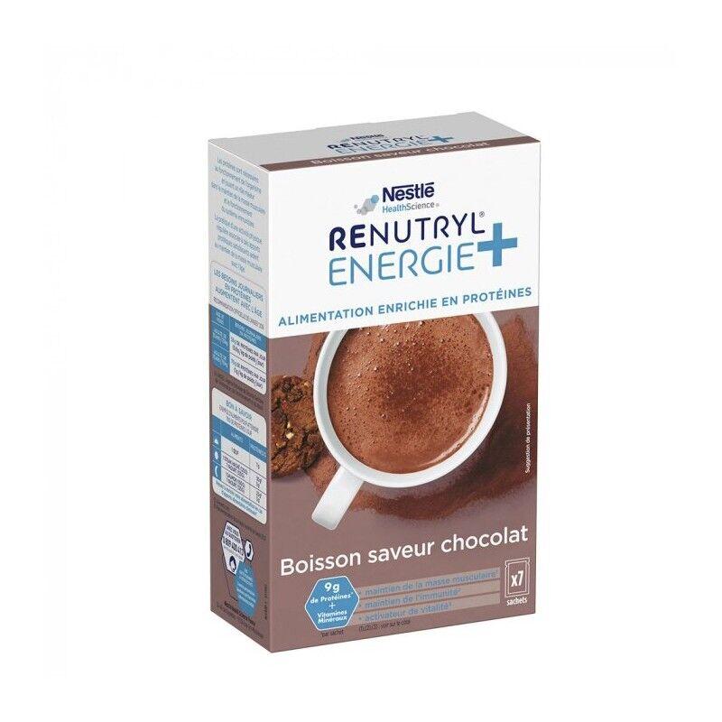 Nestlé Health Science Nestlé Renutryl Energie+ boisson saveur chocolat - 7 x 30g