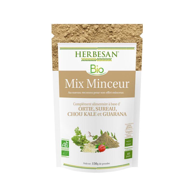 Super Diet Herbesan Mix minceur bio - poudre sachet de 150g