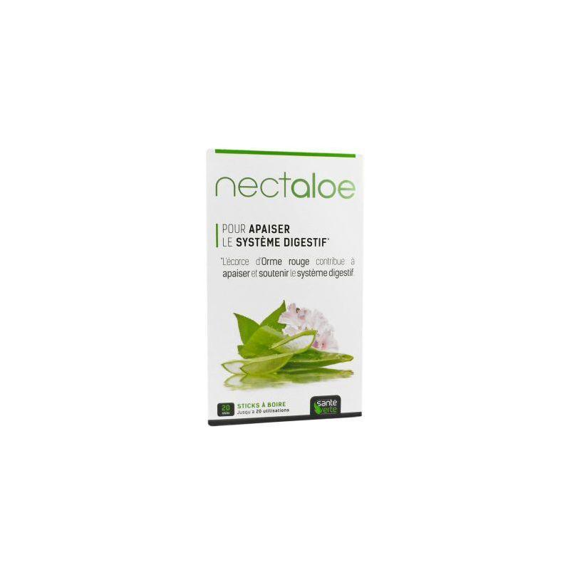 Santé verte Nectaloe 20 stick à boire Santé verte