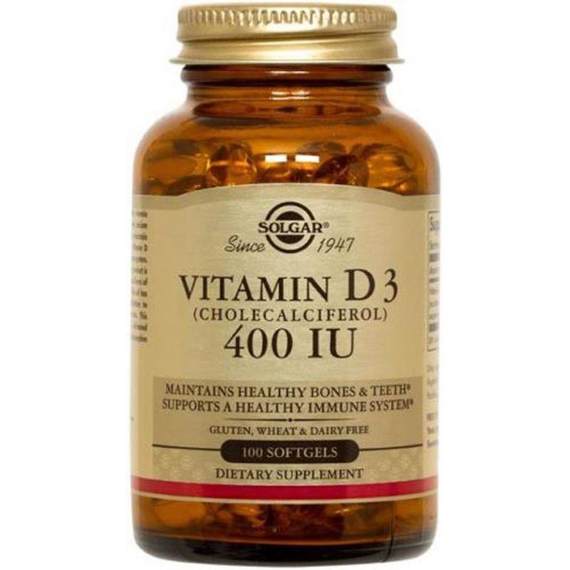 Solgar Vitamine D3 400 UI- 100 softgels