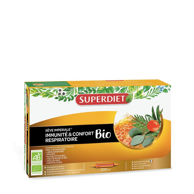 Super Diet Superdiet Sève Impériale Bio - 20 ampoules