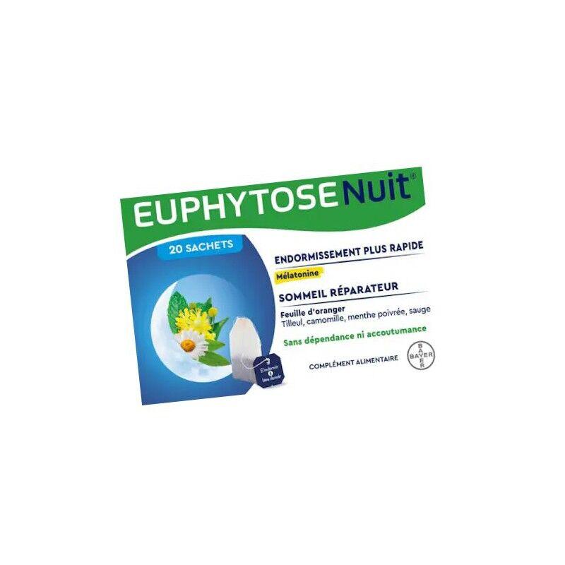 Bayer Euphytose nuit infusion - 20 sachets