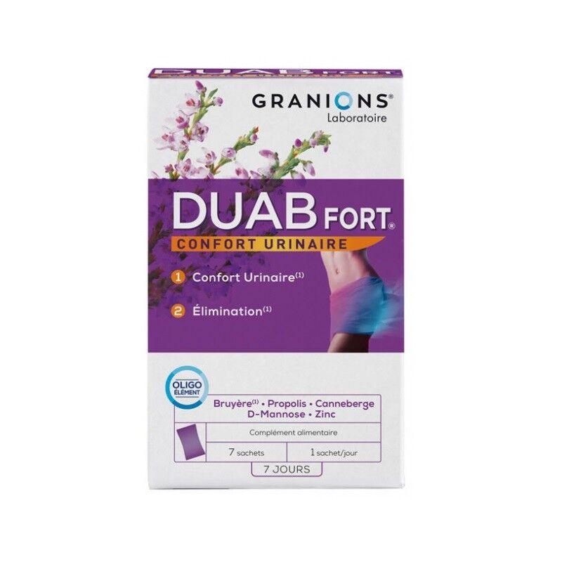 Laboratoire Granions Granions Duab Fort - 7 sachets