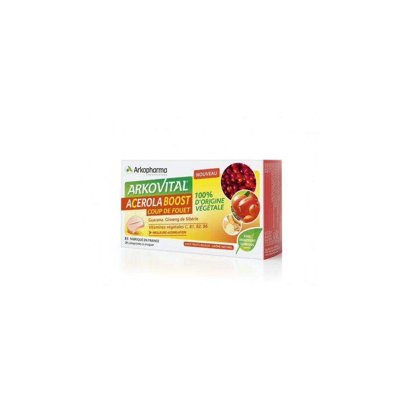 Arkopharma Arkovital Acérola boost - 24 comprimés à croquer