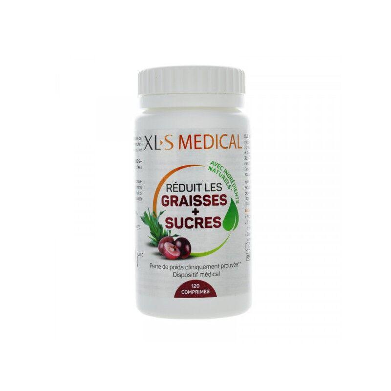 XLS Médical Réduit les graisses + sucres - 120 comprimés