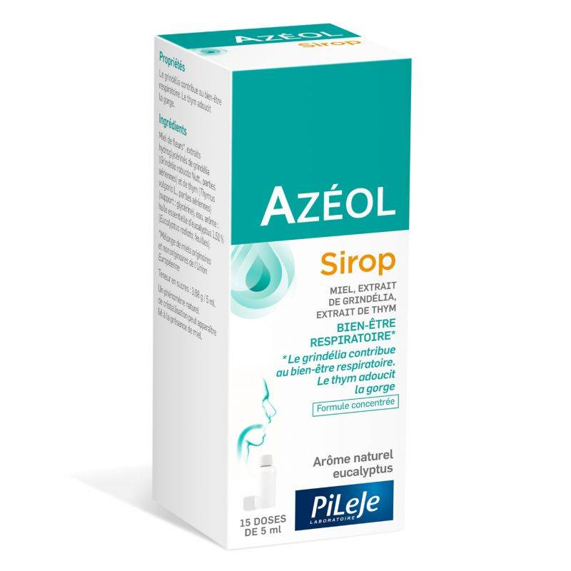 Pileje Azeol Sirop - Flacon de 75ml