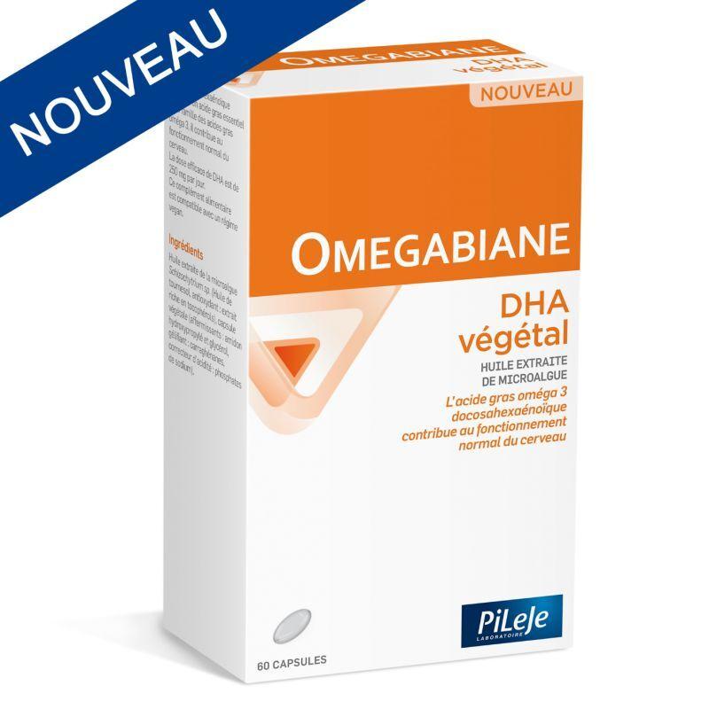 Pileje omegabiane dha végétal 60 capsules