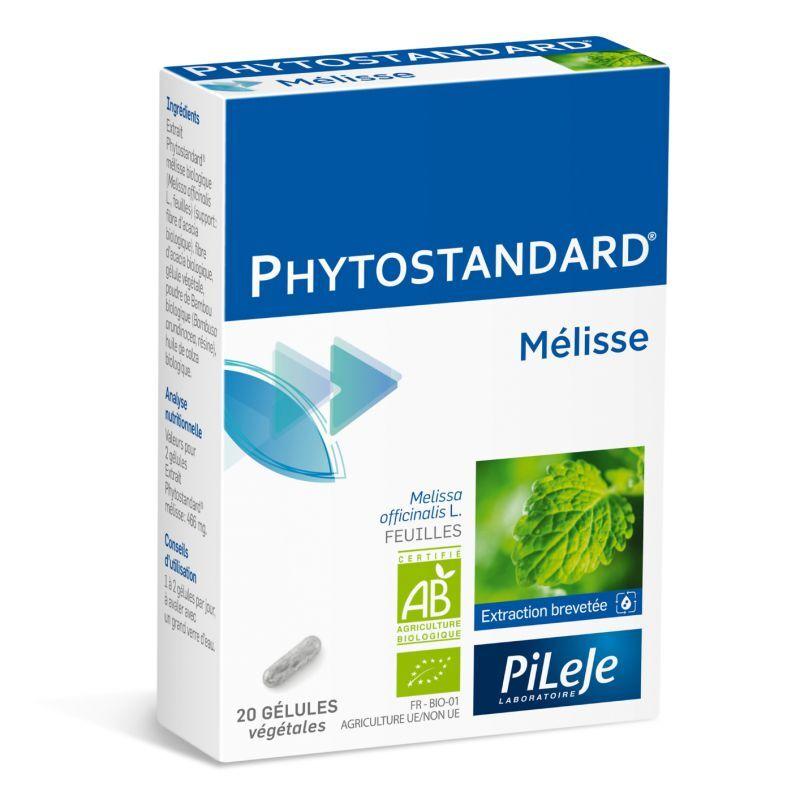 Pileje Phytostandard Mélisse 20 Gélules
