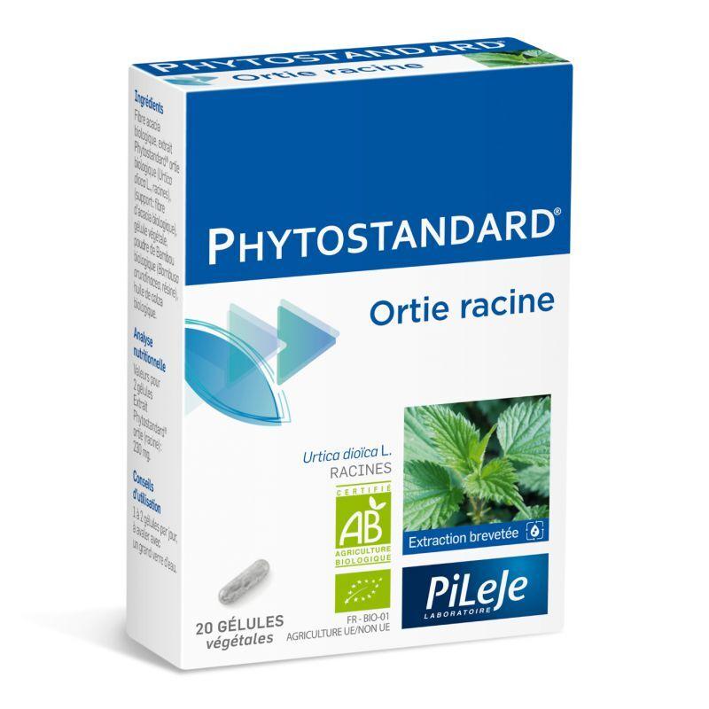 Pileje Phytostandard Ortie racine 20 Gélules