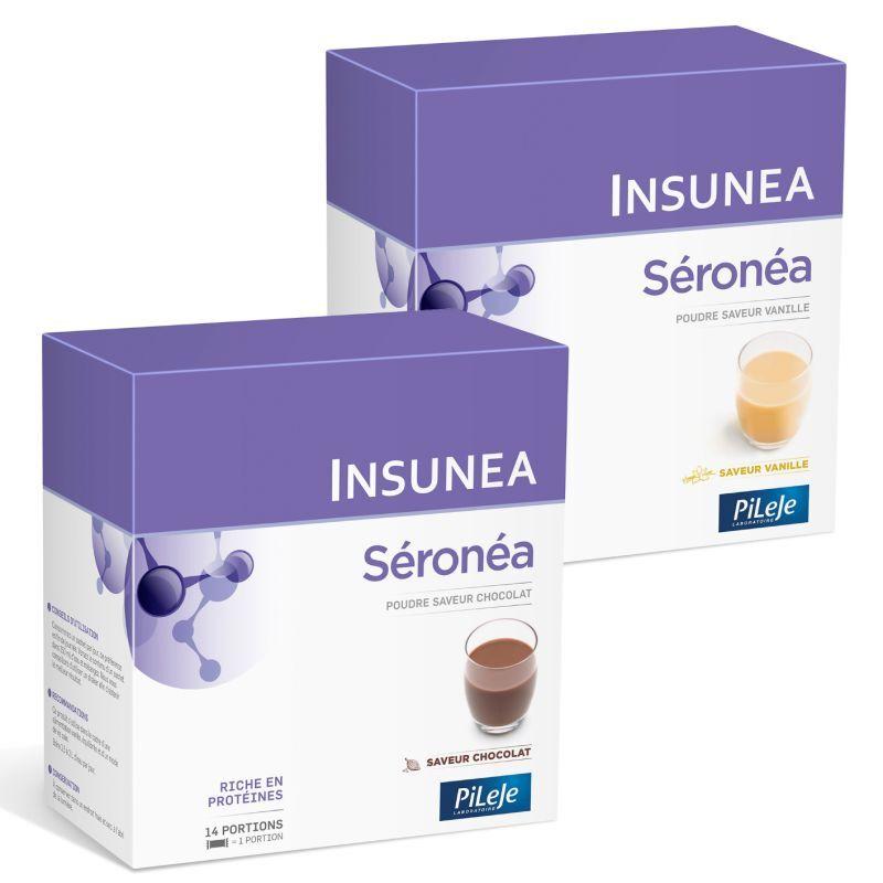 Pileje Ceroline (seronea)- 14 sachets saveur chocolat