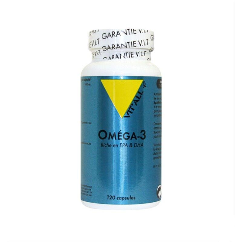 Vitall + Vitall+ Oméga 3 1000mg - 120 capsules