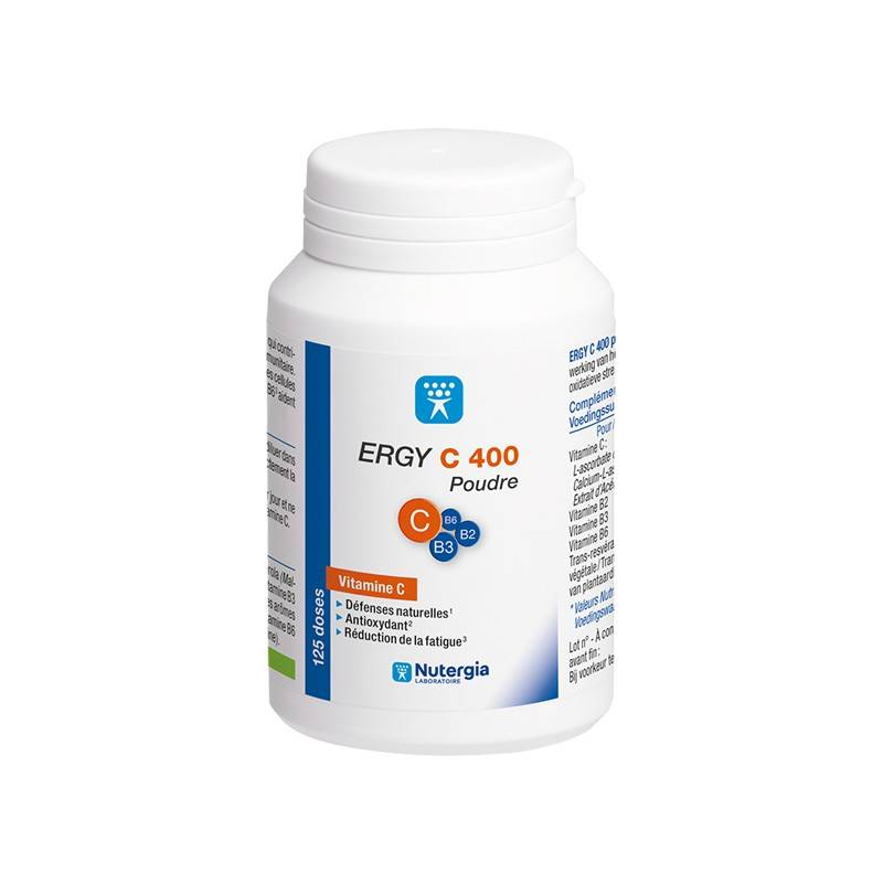 Nutergia ergy c 400 poudre 125 doses