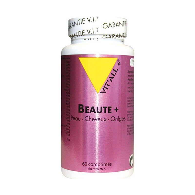 Vitall + Vitall+ Beauté Plus - 60 comprimés