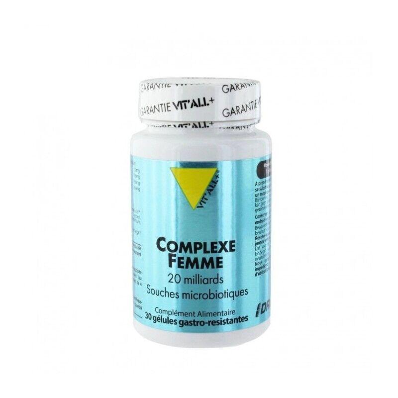 Vitall + Vitall+ Complexe femme - 30 gélules