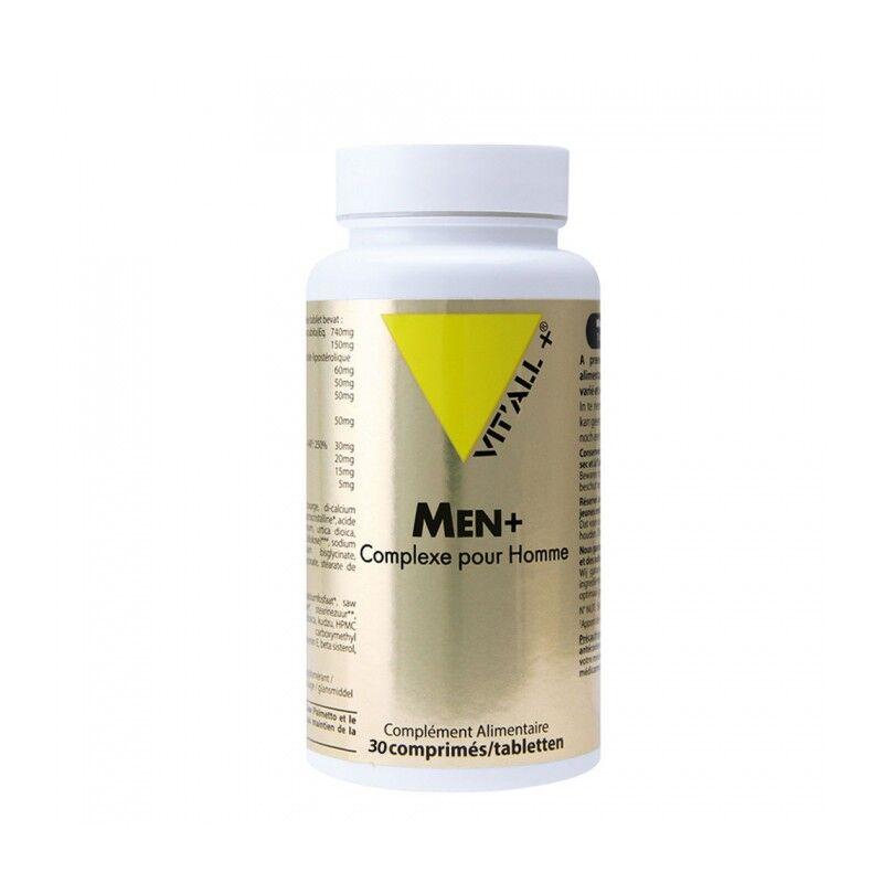 Vitall + Vitall+ Men + complexe pour homme - 30 comprimés