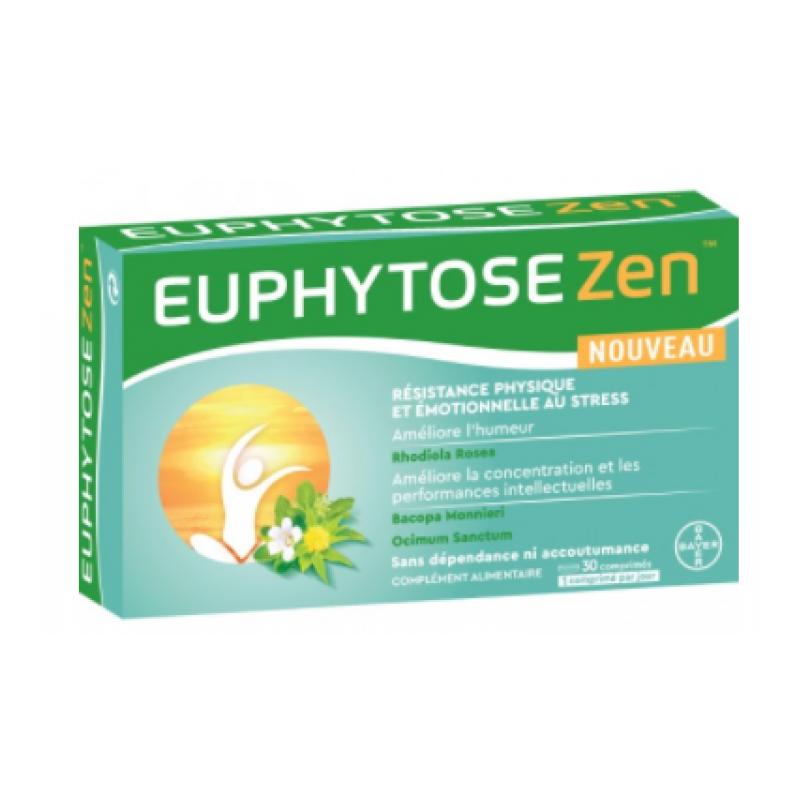 Bayer Euphytose Zen - 30 comprimés