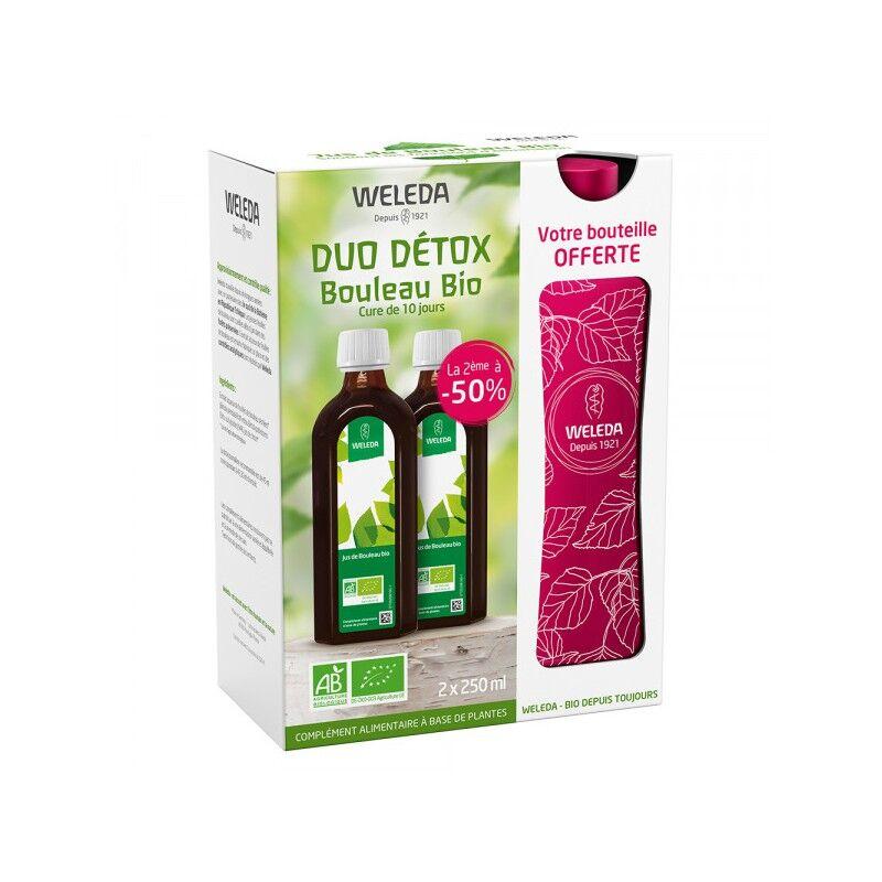 Weleda Jus de bouleau Bio + bouteille nomade offerte - Lot de 2 x 250ml