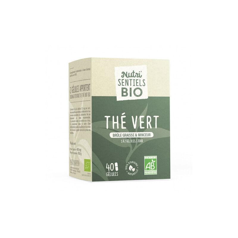 Nutrisanté Les Nutri'Sentiels Thé vert guarana - 40 gélules