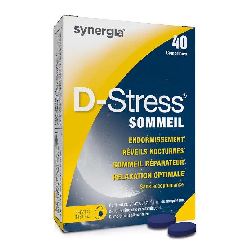 Synergia D-Stress sommeil - 40 comprimés
