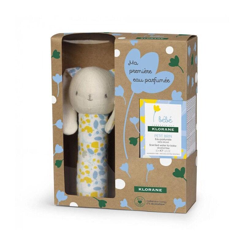 Klorane Coffret eau parfumée et hochet lapin bébé - 50ml