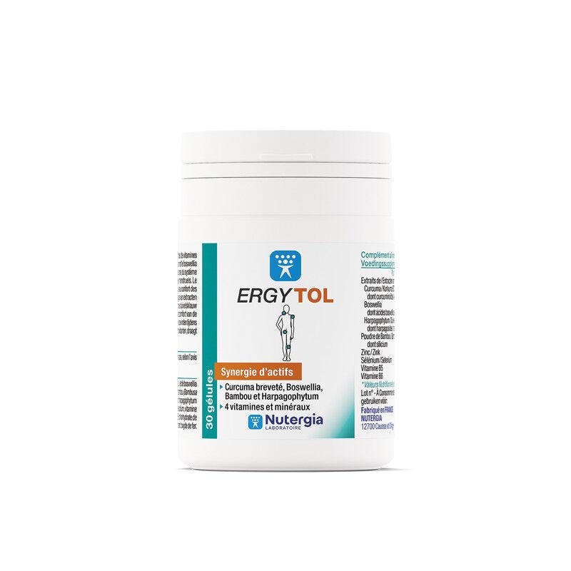 Nutergia ergytol 30 gélules