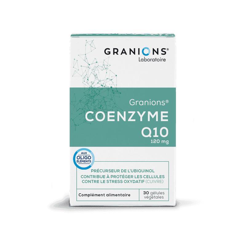 Laboratoire Granions Granions Coenzyme Q10 - 30 gélules végétales
