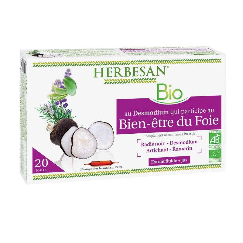 Super Diet Herbesan Phyto Complexe Bien-être du foie - 20 ampoules