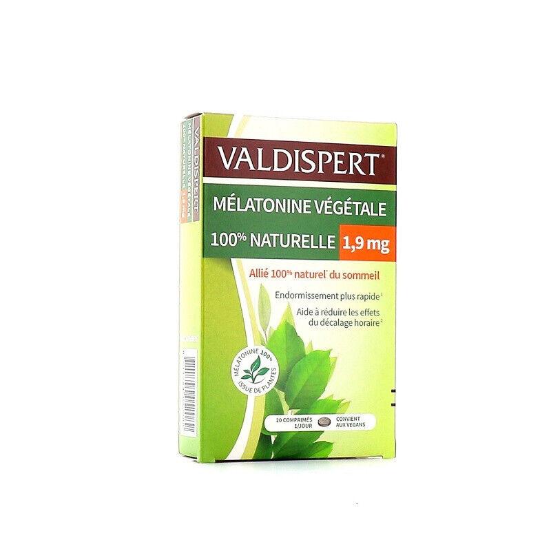 Vemedia Valdispert Mélatonine végétale 1,9mg - 20 comprimés