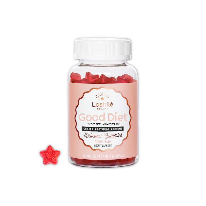Lashilé Beauty Good Diet boost minceur - 60 gommes