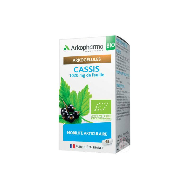 Arkopharma Arkogélules Cassis Bio - 45 gélules