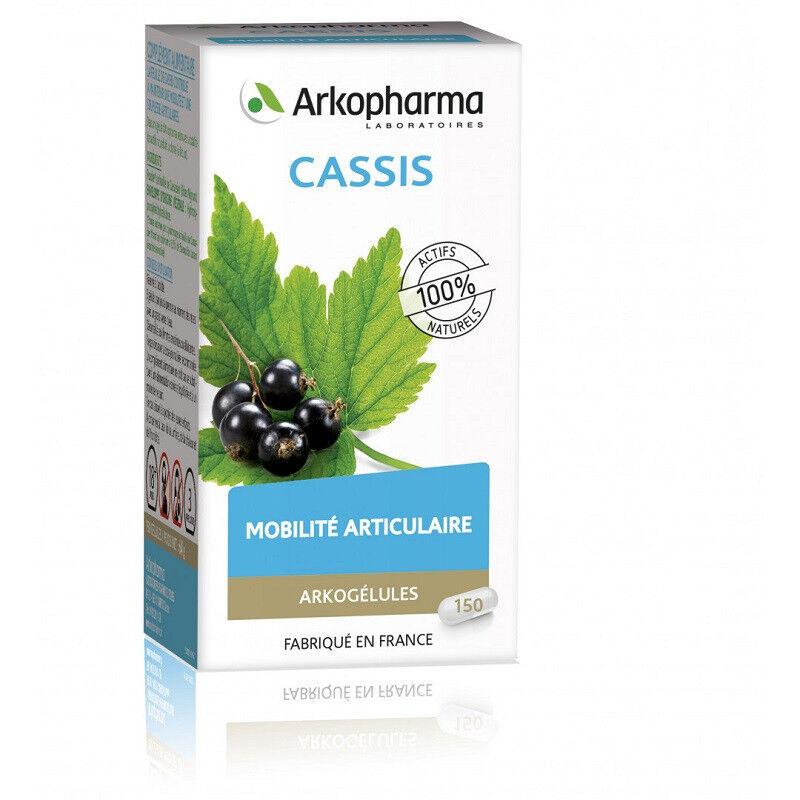Arkopharma Arkogélules Cassis Bio - 150 gélules