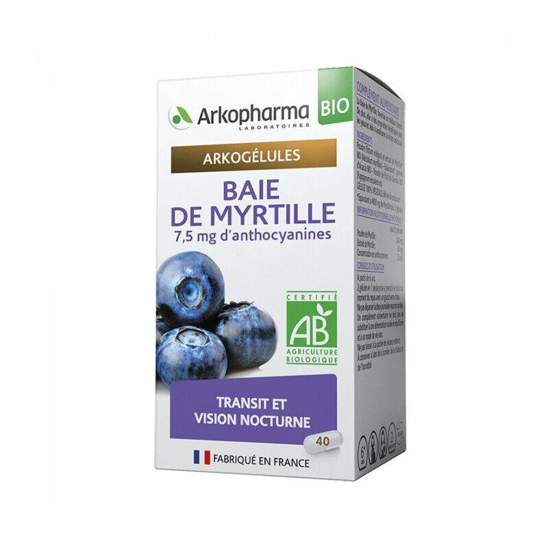 Arkopharma Arkogélules Baie de Myrtille Bio - 45 gélules