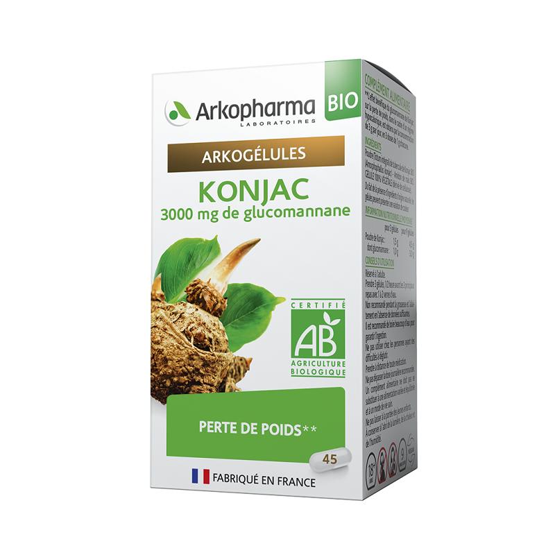Arkopharma Arkogélules Konjac Bio - 45 gélules