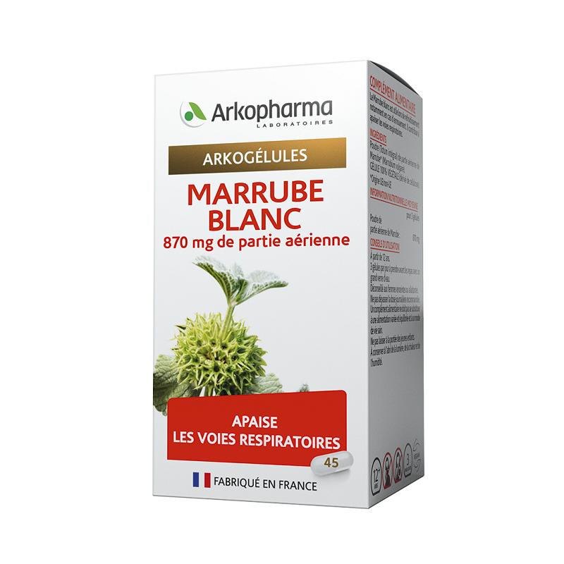 Arkopharma Arkogélules Marrube Blanc - 45 gélules