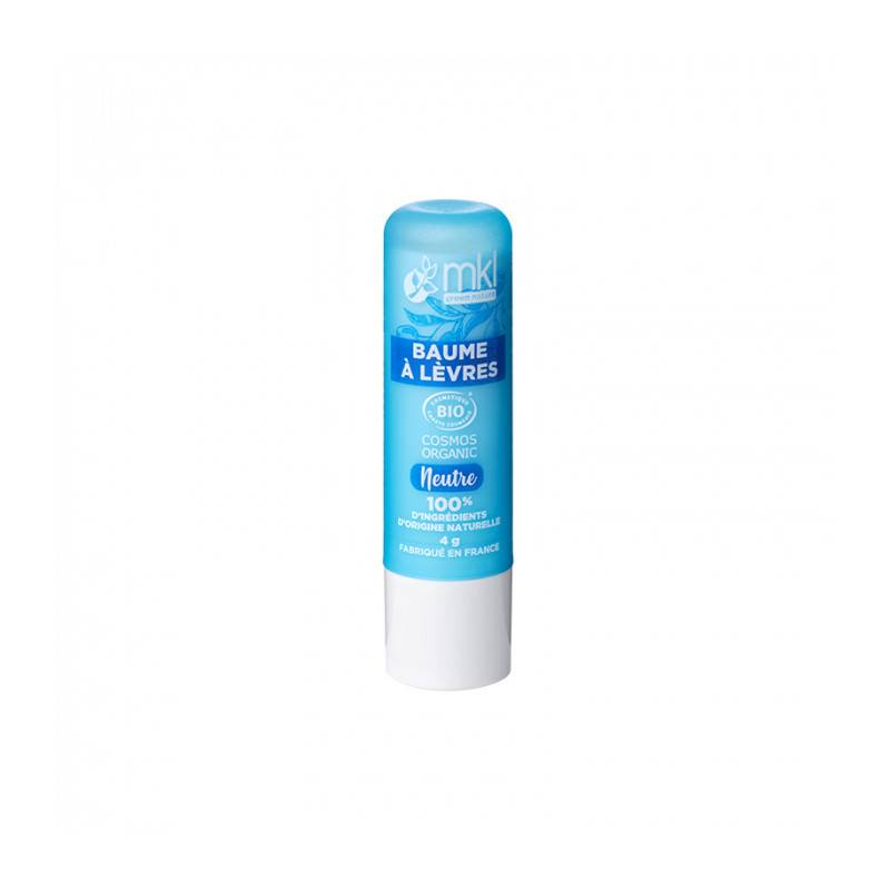 MKL Baume à lèvres neutre certifié Bio - 4 g