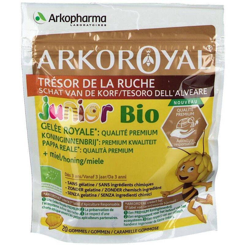 Arkopharma Arkoroyal Trésors de la ruche Junior Bio - 20 gommes