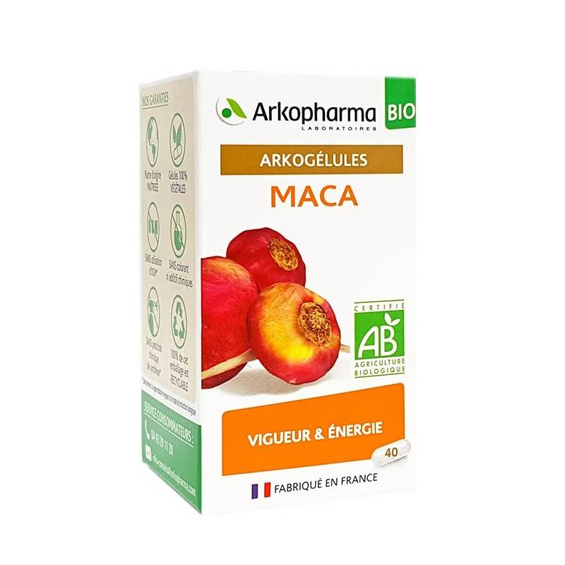 Arkopharma Arkogélules Maca Bio - 40 gélules