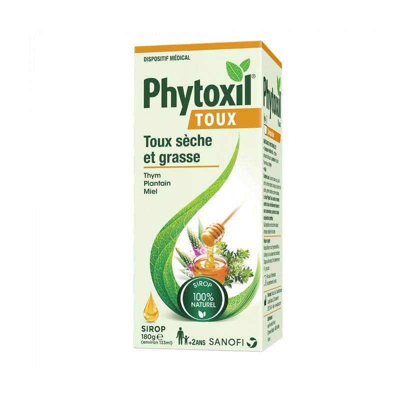 Sanofi Phytoxil Sirop toux sèches et grasses - 133ml