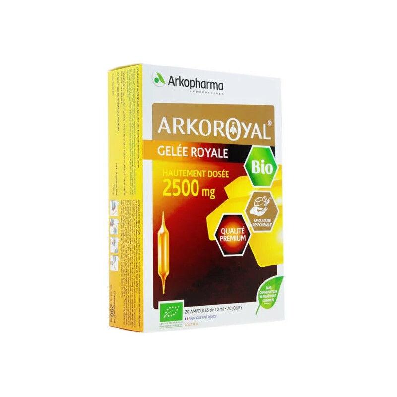 Arkopharma Arkoroyal Gelée royale Bio 2500mg - 20 ampoules