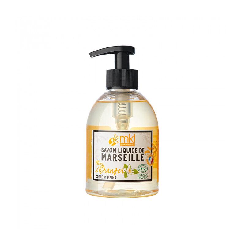 MKL Savon de Marseille surgras Fleur d'oranger certifié Bio - 300ml