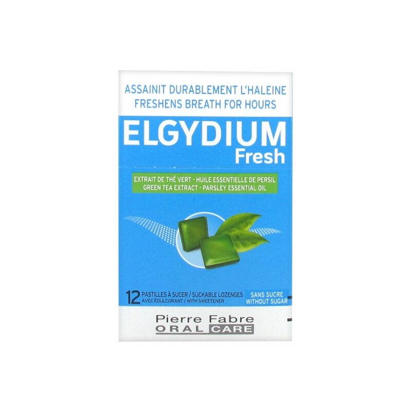 Pierre Fabre Elgydium Fresh Pastilles à sucer - 12 pastilles
