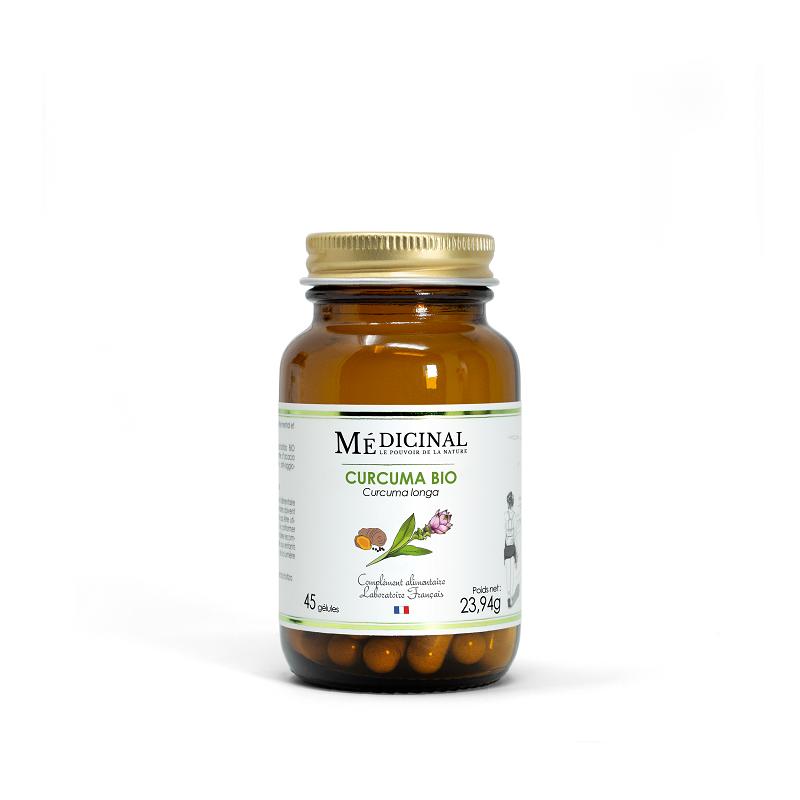 Mediprix Médiprix Curcuma Bio - 45 gélules