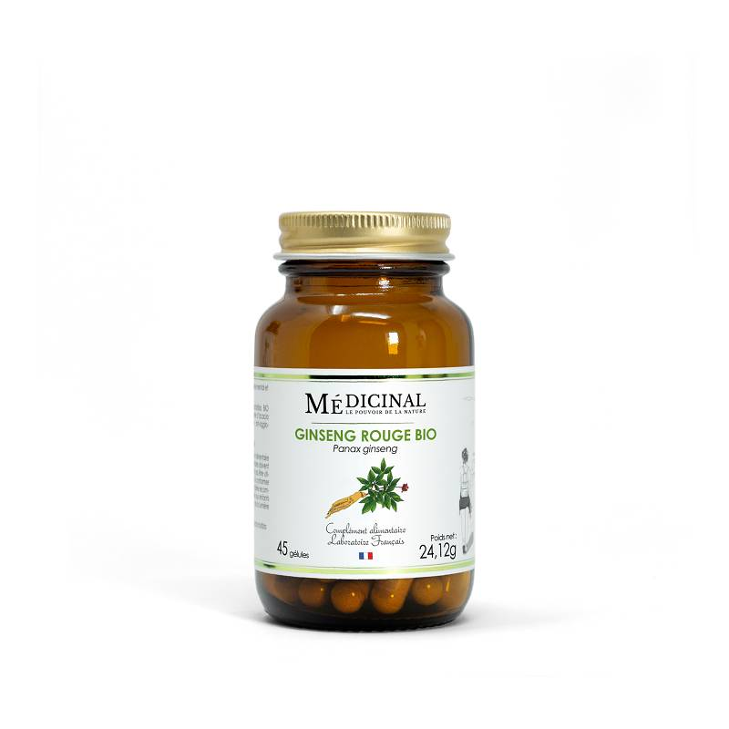 Mediprix Médiprix Ginseng Rouge Bio - 45 gélules