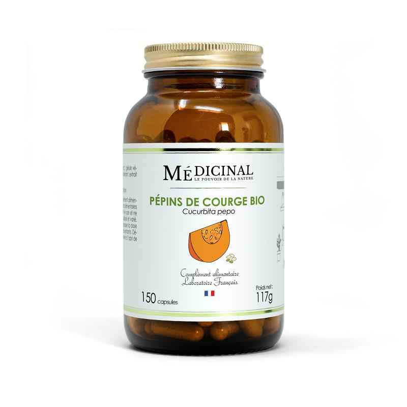 Mediprix Médiprix Pépins de courge Bio - 150 gélules